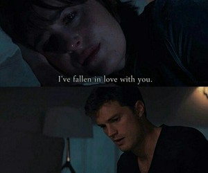love, Jamie Dornan, and dakota johnson image