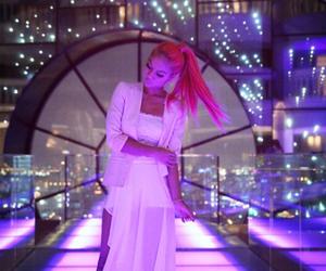 blogger, pink hair, and bangkok image