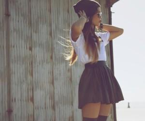 beautiful, fashion style, and blue image