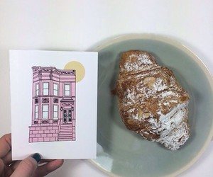 art, new york, and baking image