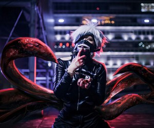 cosplay, tokyo ghoul, and ghoul image