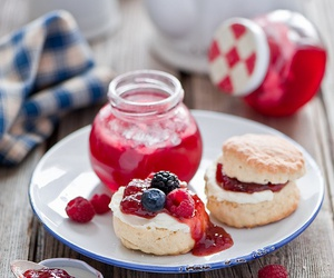 food, delicious, and jam image