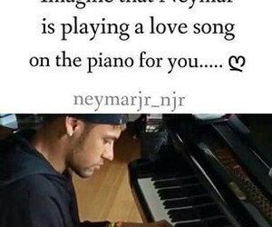imagine, piano, and neymar image