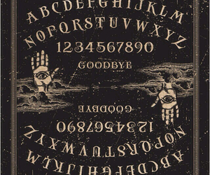 ouija, ghost, and ouija board image