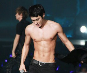 siwon, super junior, and siwon abs image