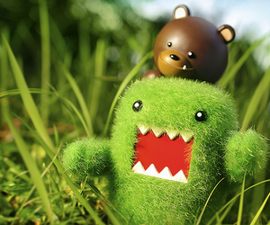 bear, domo, and green image