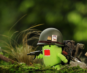 cute, domo, and green image