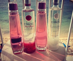 drink, summer, and ciroc image