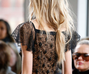 fashion, blonde, and hair image