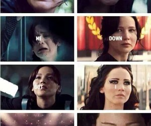 the hunger games, katniss, and katniss everdeen image
