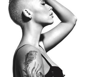 Amber Rose, tattoo, and sexy image