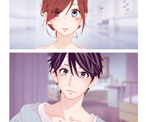 hirunaka no ryuusei, manga, and shoujo image