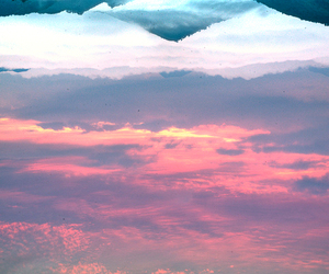 color, horizon, and pastel image