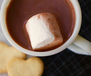 drink, e, and hot chocolate image