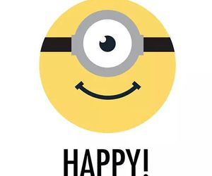 minions, happy, and yellow image