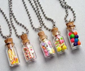 candy, necklace, and sweet image