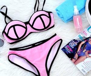 art, bikini, and Dream image