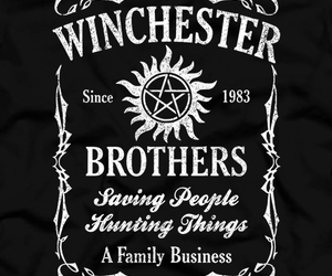 supernatural and winchester brothers image