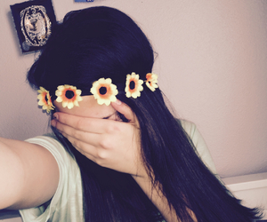 flower crown and pretty image