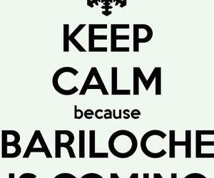 bariloche, keep calm, and winter image