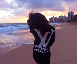 beach, chanel, and summer image