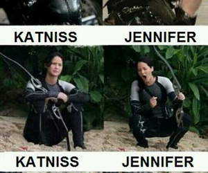 funny, lol, and Jennifer Lawrence image