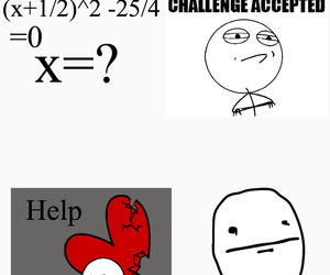 challenge, emotions, and math image