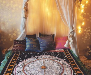 bedroom, hippie, and astrology image