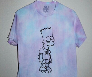 grunge, bart, and simpsons image