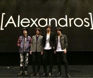 champagne, hiro, and alexandros image