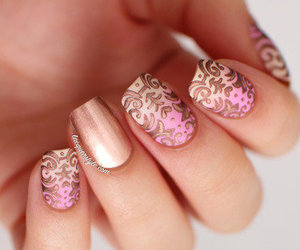 art, nails, and nail design image