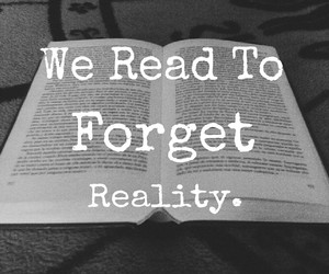 book, read, and reality image