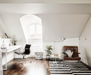 interior, white, and room image
