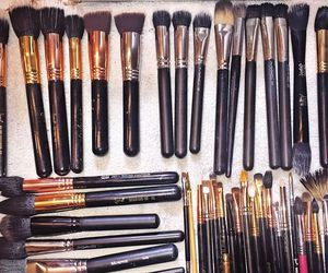 beauty, Brushes, and goals image