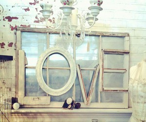 home decor, shabby chic, and white image