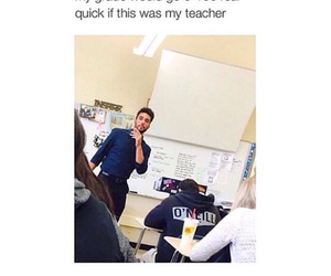 teacher, funny, and Hot image