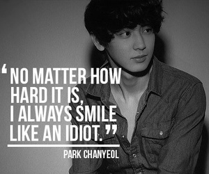 chanyeol, exo, and quotes image