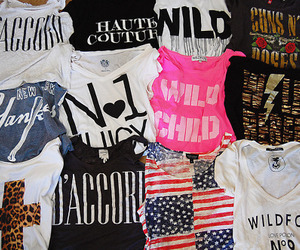 clothes, clothing, and t shirts image