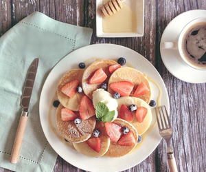 breakfast, goodmorning, and coffee image