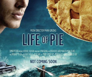 funny, dean, and pie image