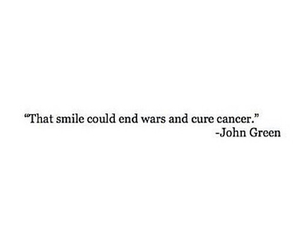 cancer, smile, and war image