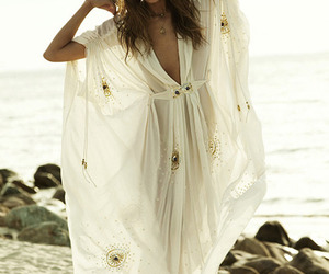 fashion, beach, and dress image