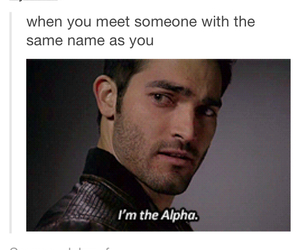 alpha, derek, and funny image