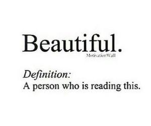 beautiful, reading, and Who image