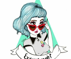 valfre, girl, and blue image