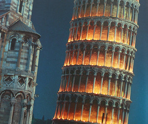 italy, Pisa, and light image