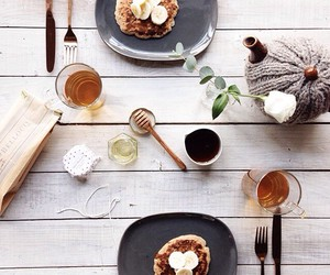 food, breakfast, and love image