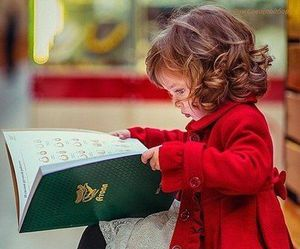book, girl, and sweet image