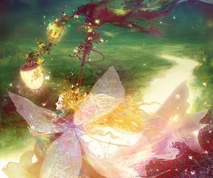 fairy, magic, and illustration image