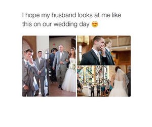 wedding, husband, and cute image